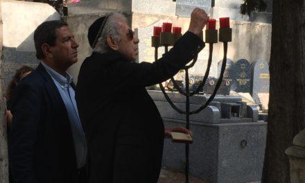 Commémoration de la journée de la mémoire des génocides et de la prévention des crimes contre l'humanité au Collège Pont de Vivaux le 27 Janvier 2015 – Date anniversaire également des 70 ans de la libération du camp d'Auschwitz.