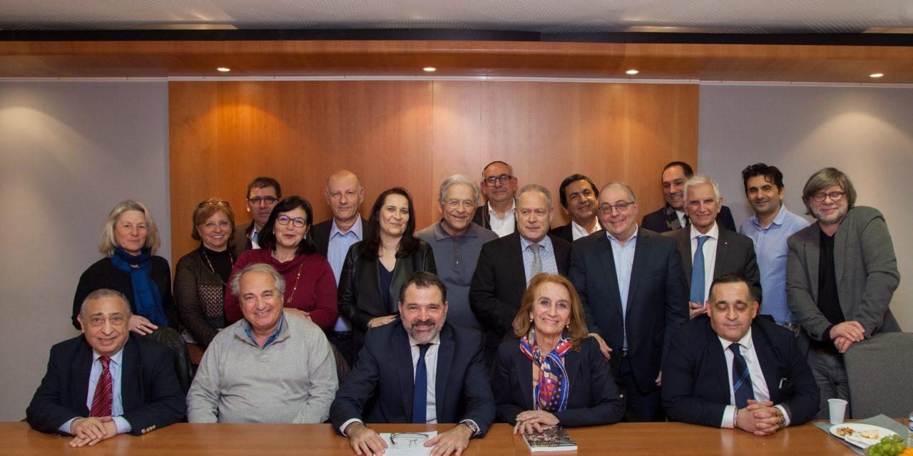 Danielle Milon, Maire de Cassis et Vice-Présidente de la Communauté urbaine Marseille-Provence-Métropole, invitée du Crif Marseille-Provence.