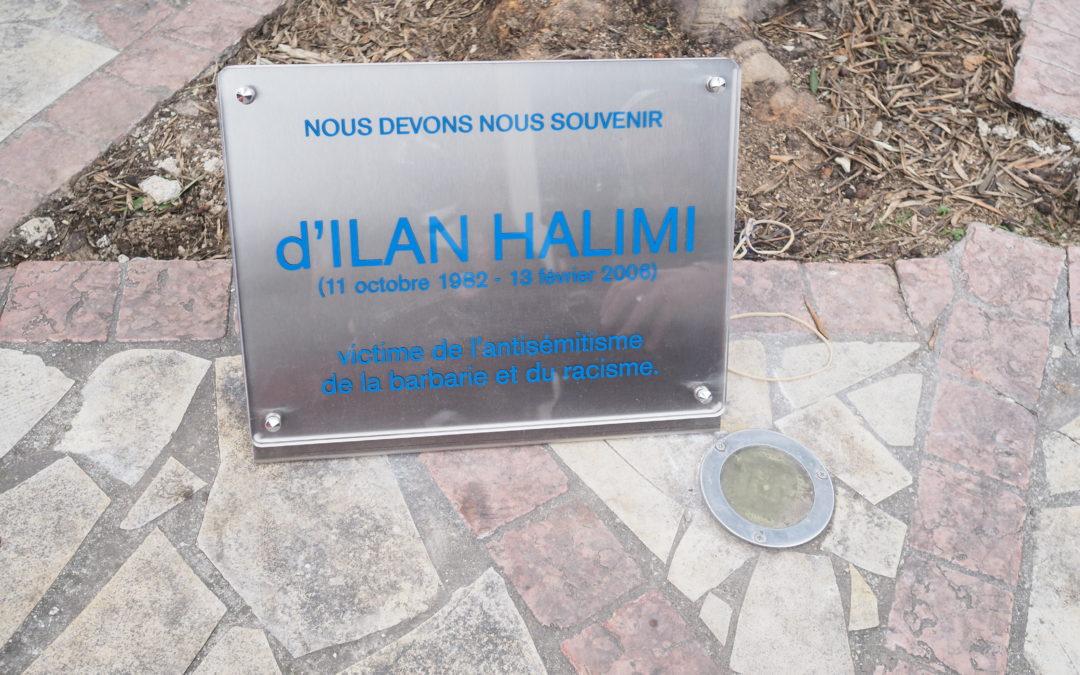 Inauguration d'une plaque en souvenir d'Ilan Halimi à l'école Yavné à Marseille