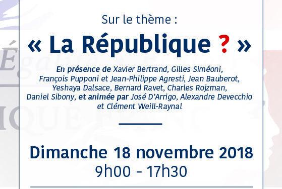 7e Convention Régionale du Crif Marseille-Provence autour du thème «La République ?» : Inscriptions pour cette journée du 18 Novembre à Marseille !