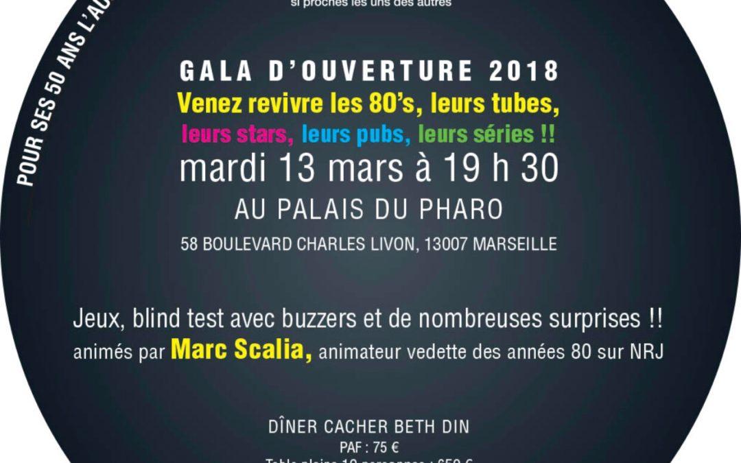 L'AUJF fête ses 50 ans à Marseille le 13 Mars 2018