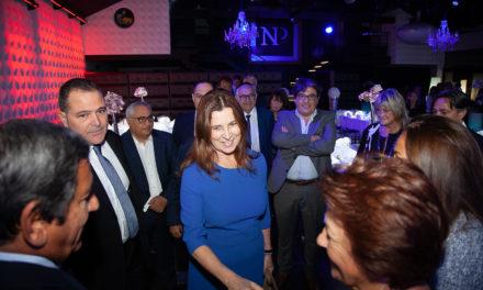 L'Ambassadrice d'Israel en France, Madame Aliza Bin Noun, rencontre les autorités et les acteurs communautaires de la région.