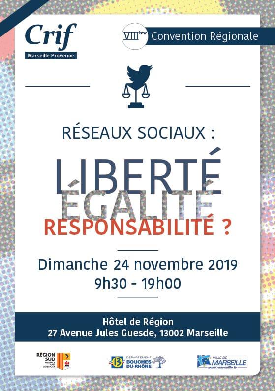 8ème Convention Régionale du CRIF Marseille Provence