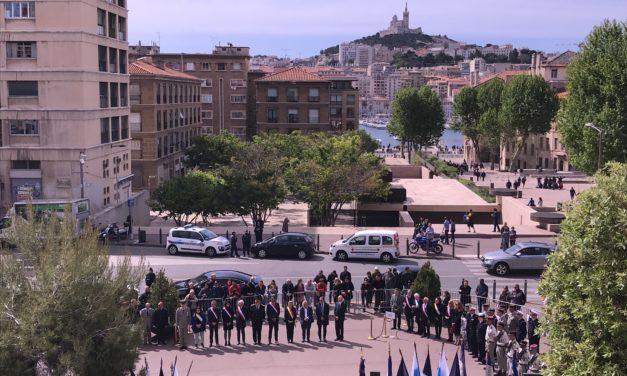 Marseille se recueille pour la Journée Nationale du souvenir des Victimes et des Héros de la Déportation