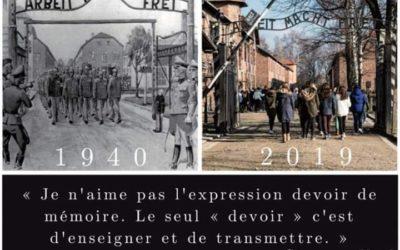 #YomHashoah Mercredi 01 Mai 2019 à 19h à Marseille, au «Mur des Noms»