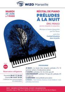 Récital de Piano - WIZO Marseille