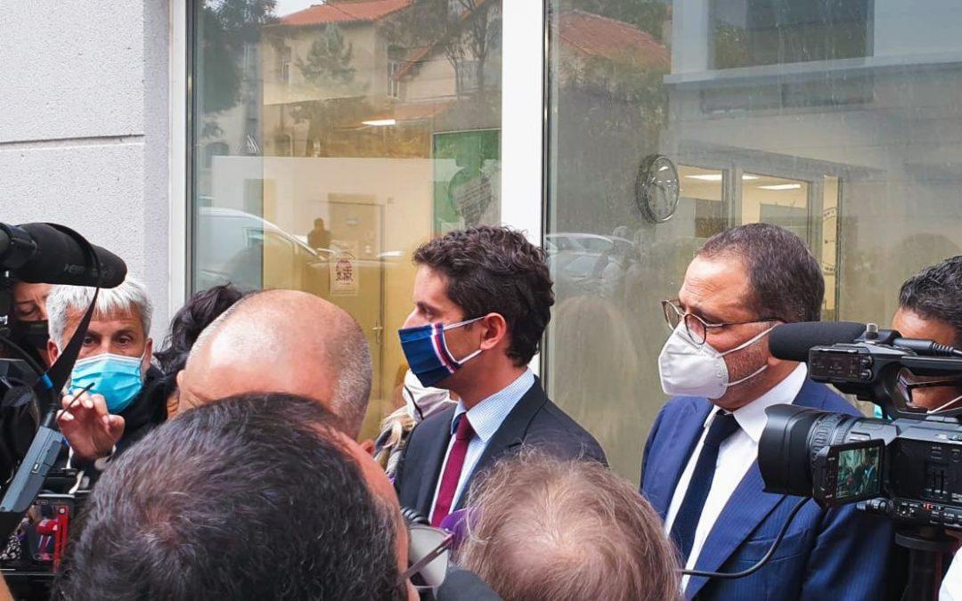 Rencontre avec le Porte-parole du Gouvernement , Monsieur Gabriel Attal