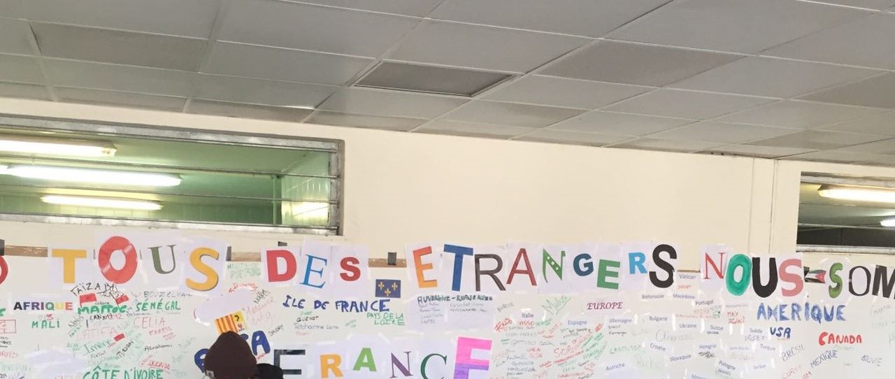 Journée de la mémoire des génocides et de la prévention crimes contre l'humanité au Lycée Adam de Craponne à Salon-de-Provence