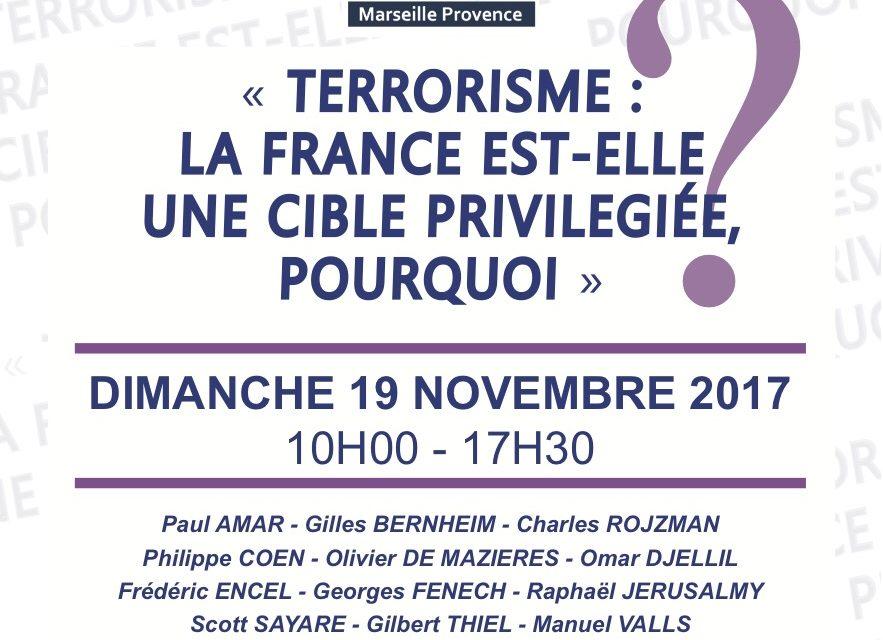 6e Convention Régionale du Crif Marseille-Provence le Dimanche 19 Novembre 2017