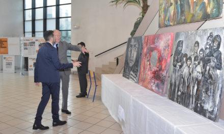 Exposition sur le Génocide des Tutsis au Rwanda et Spectacle «Résister pour se libérer» à l'Ecole Yavne lors de la «Journée de la Mémoire des Génocides et des crimes contre l'Humanité»