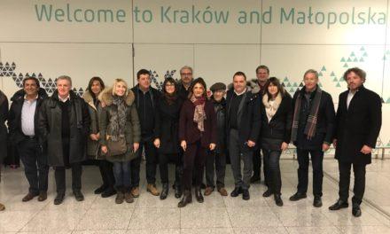 Retour en images sur le voyage à Cracovie avec la délégation du Conseil Départemental des Bouches-du-Rhône