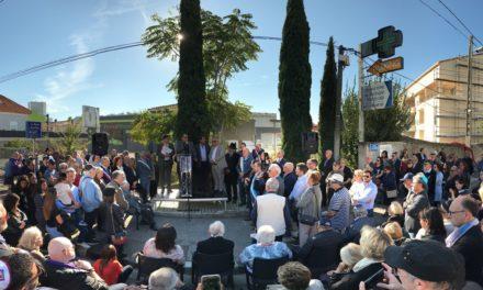 Marseille : Commémoration de la Rafle des enfants de la Verdiere le 21 Octobre 2018