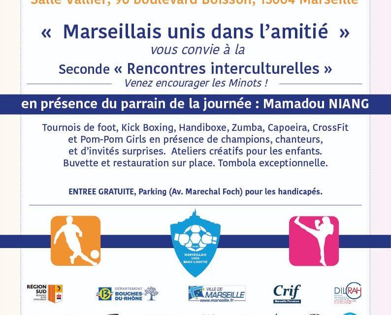 «Marseillais Unis dans l'Amitié» 2e Edition à Marseille le 4 Novembre 2018