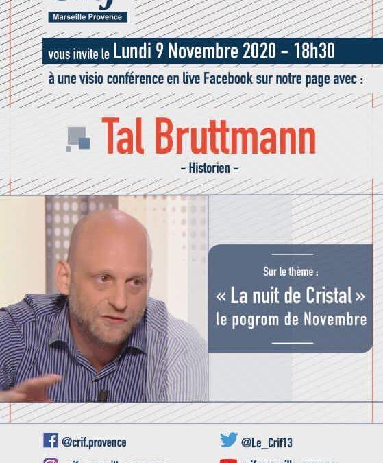 Conférence de Tal Bruttmann sur la Nuit de cristal